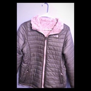 The North Face girls reversible winter jacket/coat
